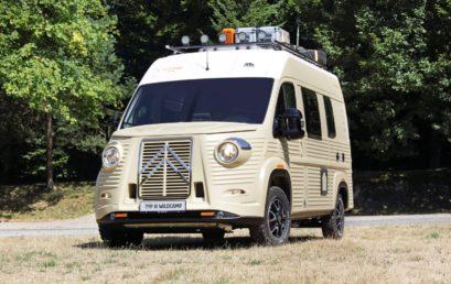 Venez découvrir le Citroën Type H WildCamp au Camper Van Week-End !