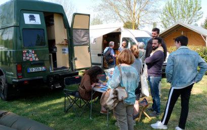 Le Village Vanlife, échanges et rencontres entre vanlifeurs
