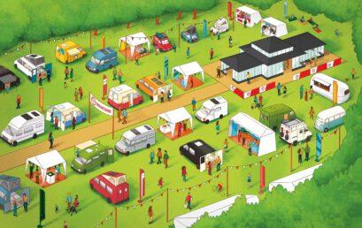 Camper Van Week-End Chantilly : la billetterie est ouverte !