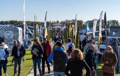 Toujours plus d'exposants et de visiteurs au Camper Van Week-End !